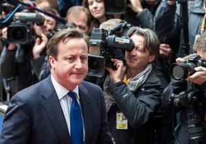 Британские СМИ: Кэмерон оказался замешан в любовный скандал