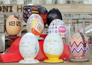 Модные дома выпустили дизайнерские пасхальные яйца