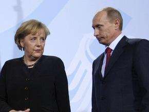 Путин и Меркель договорились проверить техническое состояние ГТС Украины