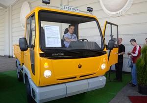 Ъ: Львовский концерн Электрон выпустил свой первый автомобиль