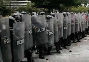 ДТП - В Колумбии грузовик врезался в группу демонстрантов, погибли семь человек