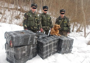 Новости Черновицкой области - контрабанда - пограничники - В Черновицкой области пограничники выявили контрабанду сигарет