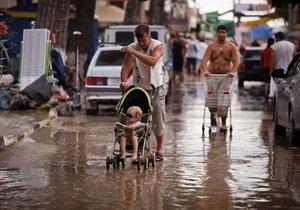 На Кубани объявлено новое экстренное предупреждение в связи с ожидаемыми ливнями