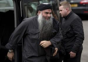 Тяжба за $1,7 млн: Сегодня ночью Абу Катаду депортируют из Великобритании
