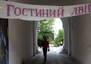Депутаты требуют от Пшонки отменить решение о Гостином дворе