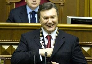 Янукович готовится к отчету о 50 днях президентства