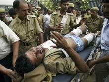 На автобусной остановке в Индии прогремел взрыв