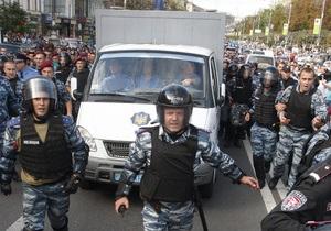 Милиция ослабила меры безопасности во время доставки Тимошенко в суд