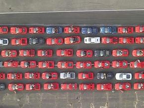 В Москве сгорел раритетный Ferrari
