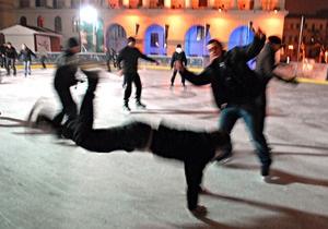 Фотогалерея: Киев на льду