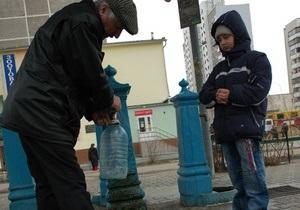 Киевские бюветы останутся бесплатными