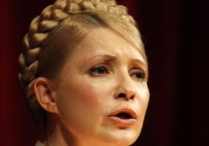 Тимошенко заявила о преследовании оппозиционеров