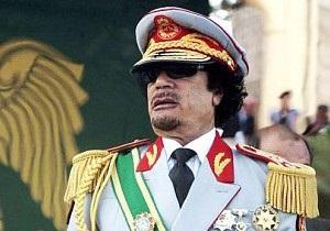 Ливийские дипломаты в Чехии сожгли портрет Муамара Каддафи