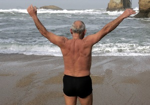 70-летний британец стал самым пожилым в мире человеком, переплывшим Ла-Манш