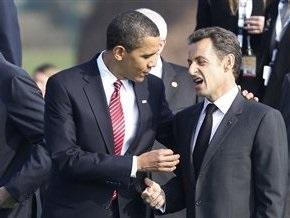 Обама и Саркози разошлись во мнениях относительно вступления Турции в ЕС