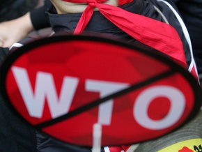 ВТО ждет от Украины отмены 13% надбавки уже в середине июля