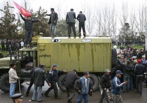 Армия и погранслужба Кыргызстана перешли на сторону оппозиции