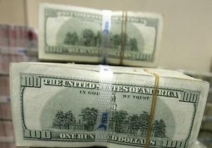 Золотовалютные резервы НБУ за месяц упали на $750 млн