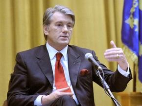 Закон о выборах: Ющенко предложил Раде учесть рекомендации Венецианской комиссии