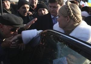 Тимошенко прибыла в ВАСУ
