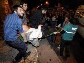 В Тбилиси произошли столкновения оппозиции с неизвестными
