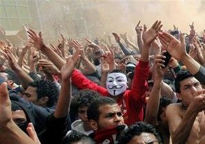 Массовые беспорядки в Египте: двое погибших в Каире, в Порт-Саиде на улицы вышли военные