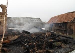 В Сумской области в результате пожара погибли два человека