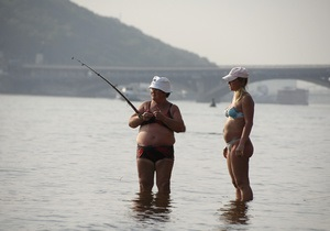 Острова на территории Гидропарка в Киеве обещают благоустроить в 2013 году