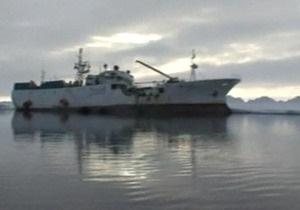 На промысловом судне близ Камчатки произошел пожар