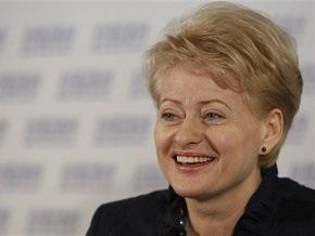 Президентом Литвы официально стала Даля Грибаускайте