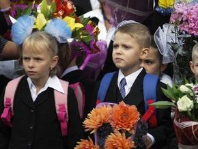 В этом году в киевские школы пойдут 23 тыс. первоклассников