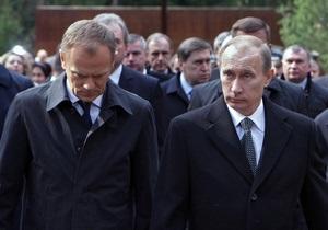 Путин допускает, что Катынь могла быть местью Сталина за гибель в Польше советских пленных