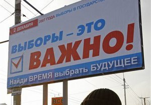 ЦИК РФ: Судимость не может быть причиной исключения из партийного списка