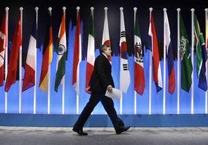 Страны G20 договорились воздержаться от девальвации валют