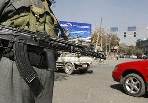 В Афганистане в результате нападения смертника ранен глава спецслужб