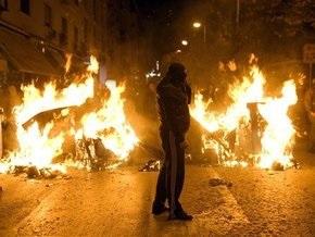 В Греции возобновились массовые беспорядки
