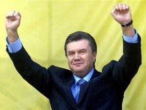 Янукович пообещал построить памятник на границе Украины, России и Беларуси