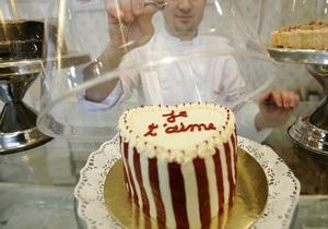 В Киеве презентуют 200-килограммовый свадебный торт