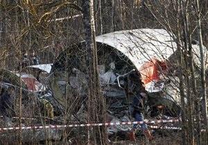 Польша хочет, чтобы Россия вернула обломки самолета Качиньского