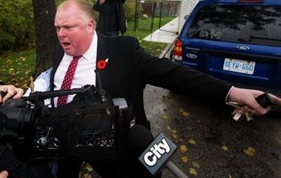 Полиция нашла видео, на котором мэр Торонто принимает наркотики