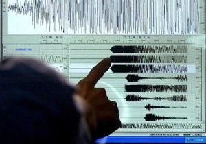 В Индийском океане произошло сильное землетрясение