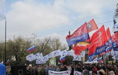 В Севастополе пророссийские силы провели три Русских марша