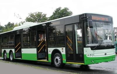 Украина начала поставки троллейбусов в ЕС