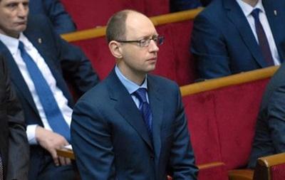 Яценюк: власть готовит  сценарий срыва  ассоциации с ЕС