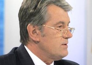 Киреев зачитал заявление Ющенко по делу Тимошенко