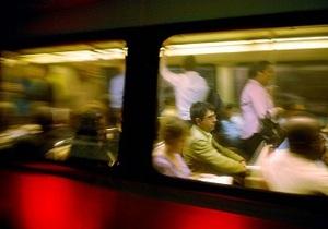 В Вашингтоне загорелся вагон метро