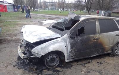 В Святошинском районе Киева вследствие поджога сгорели пять авто
