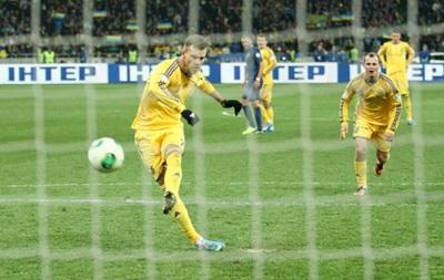 Ярмоленко вышел на третье место в списке бомбардиров сборной Украины