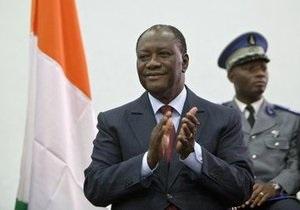 В Кот-д Ивуаре прошла церемония инаугурации Алассана Уаттары