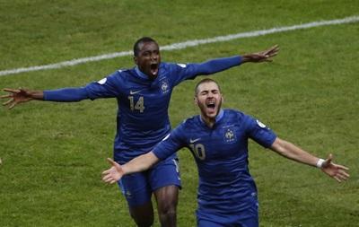 Матч Франция-Украина - футбол - лей-офф отбора на чемпионат мира 2014
